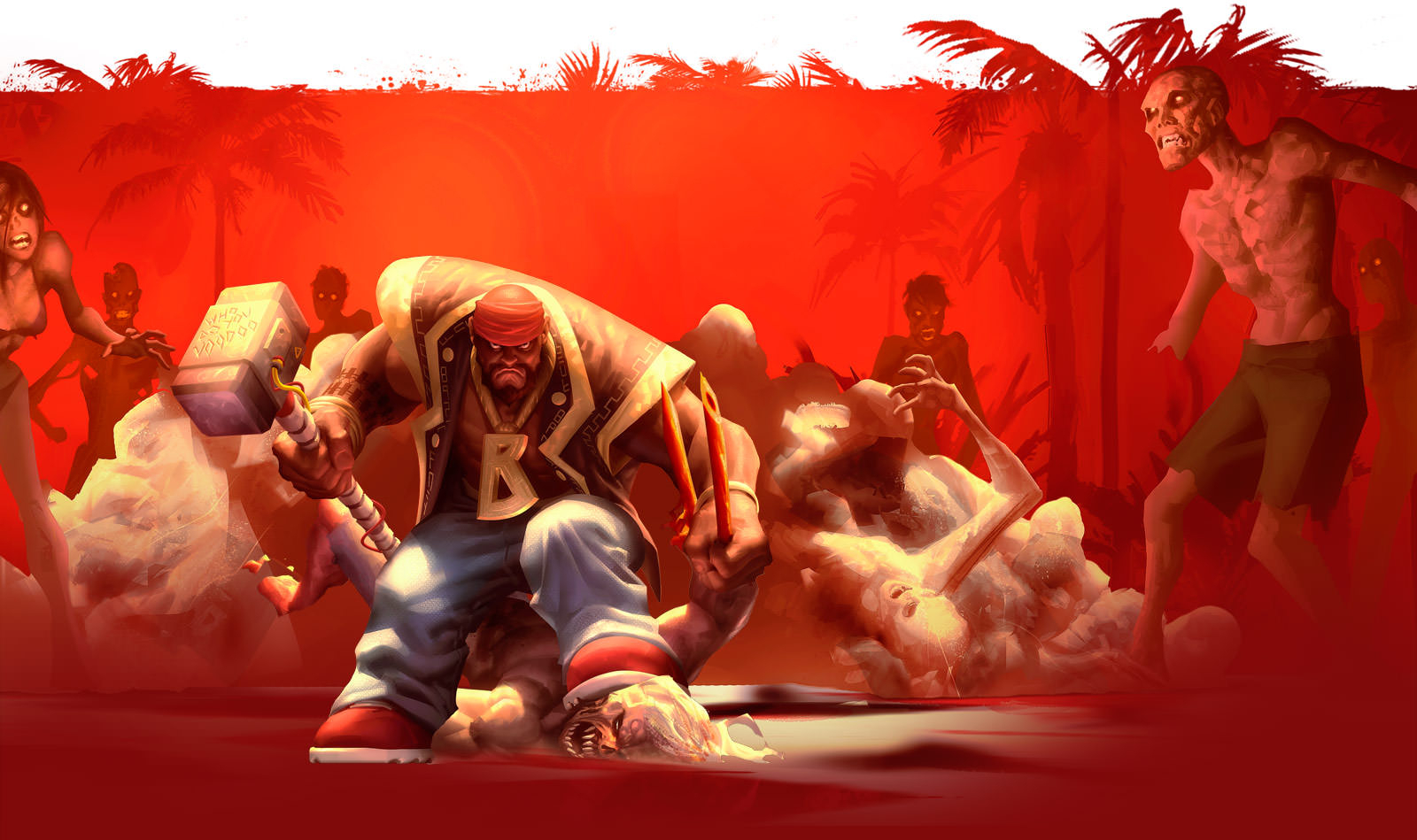 Dead Island Stages